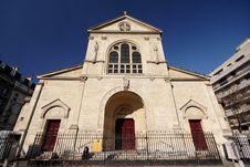 Free Church In Paris Stock Images - 608594