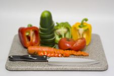 Free Cut Vegetables Royalty Free Stock Photo - 608895