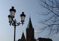 Free Church Lamps Royalty Free Stock Photos - 608908