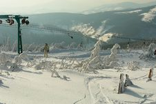 Free Ski Lift Stock Images - 609024