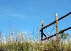 Free Fenceline Stock Image - 609361