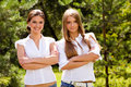 Free Two Lovely Girlfriends Stock Images - 6000964
