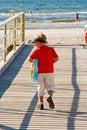 Free Little Boy On A Bridge Royalty Free Stock Photo - 6003035