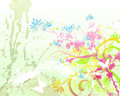 Free Floral Background 05 Royalty Free Stock Photography - 6003847