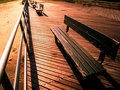 Free Benches On The Beach Stock Image - 6006371