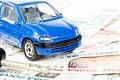 Free Car, Keys And Money Royalty Free Stock Photos - 6008748