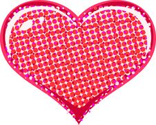 Free Halftone Heart Stock Images - 6000094