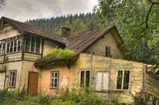 Old House In HDR Stock Images