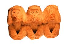 Free Monkeys Royalty Free Stock Image - 6000316