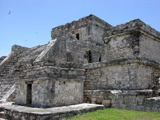 Free Tulum Temple Royalty Free Stock Image - 6000906