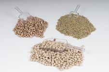 Free Lentils, Beans And Bulk On A Table Stock Photography - 6001592