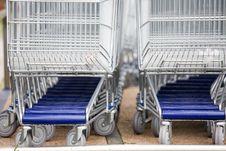 Free Cart Supermarket Stock Photography - 6002372