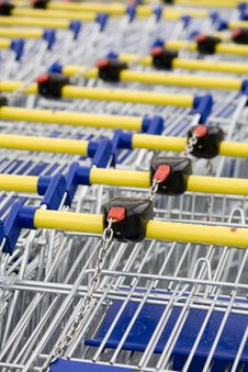 Free Cart Supermarket Stock Photos - 6002413