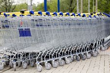 Free Cart Supermarket Royalty Free Stock Image - 6002646