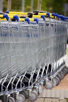 Free Cart Supermarket Stock Photos - 6002793