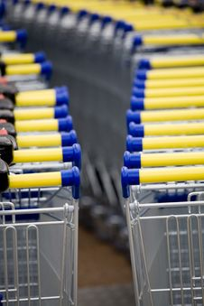 Free Cart Supermarket Stock Image - 6002831