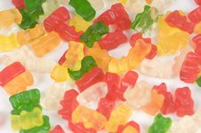 Free Sugar Colored Bears Royalty Free Stock Image - 6002846