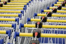 Free Cart Supermarket Royalty Free Stock Images - 6002929