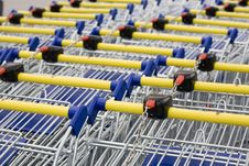 Free Cart Supermarket Stock Photography - 6003032