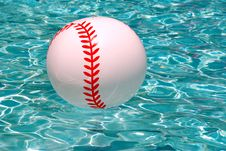 Ball In Pool Royalty Free Stock Images