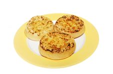 Free Three Crumpets Royalty Free Stock Photography - 6003867