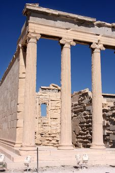 Free Erechtheum, Acropolis In Athens Stock Photography - 6004262