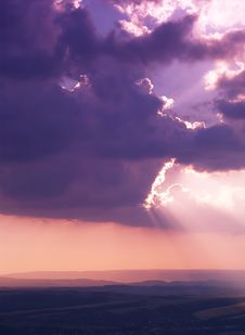 Free Sun And Clouds Stock Photo - 6004300