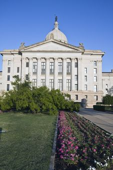 Free Oklahoma - State Capitol Royalty Free Stock Photos - 6004328
