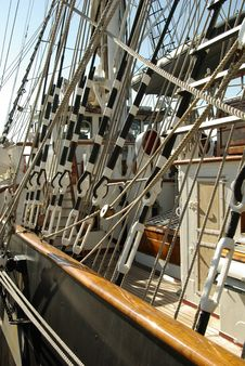 Boat Ropes Stock Photos