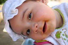 Free Happy Messy Baby Royalty Free Stock Photo - 6005035