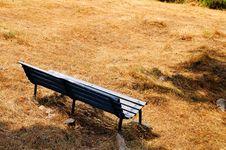 Free Abruzzo Park Bench Royalty Free Stock Photos - 6006038
