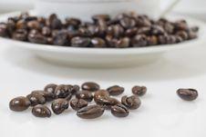Free Coffee Beans Royalty Free Stock Photo - 6006195