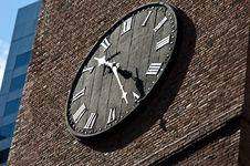 Free Black Clock Face Stock Image - 6006261