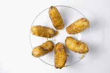 Free Fried Bananas Stock Photography - 6006272