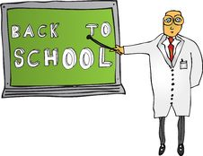 Free Teacher With Back To School Stock Image - 6006471