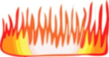 Free Flame Illustration On White 2 Stock Image - 6006481