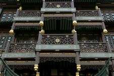 Traditional Chinese Architecture Closeup Royalty Free Stock Photography