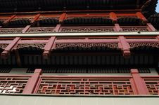 Free Traditional Chinese Architecture Closup Royalty Free Stock Image - 6006676
