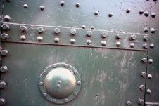 Metallic Construction Of Tank Stock Images