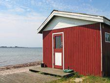 Free Small Beautiful Summerhouse Stock Photography - 6007162