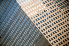 Corner Of Modern Building Royalty Free Stock Images