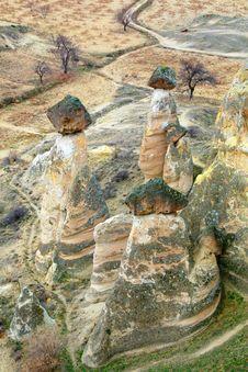 Free Rock Formations, Cappadoccia, Turkey Royalty Free Stock Images - 6008359