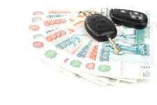 Free Car Keys And Money Stock Images - 6008754