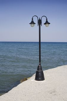 Free Lamp Post Stock Photography - 6008872
