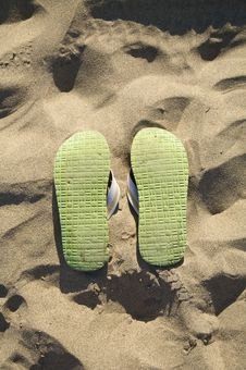 Free Sole Of Flip-flop Stock Photos - 6009133