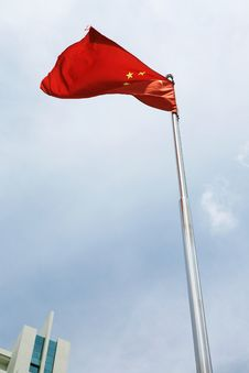 Free Chinese Flag Royalty Free Stock Images - 6009139
