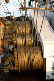 Free Winches Royalty Free Stock Photography - 6009257