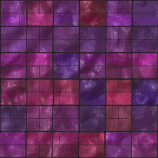 Free Seamless Purple Hilly Tiles Royalty Free Stock Images - 6009839