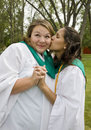 Free Graduation Kisses Royalty Free Stock Photos - 6011608