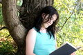 Free Young Woman Reading Royalty Free Stock Images - 6019439